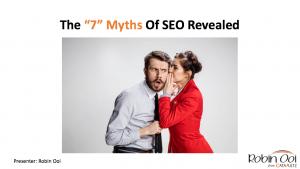The 7 Myths Of SEO Revealed